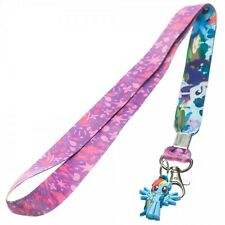 MY LITTLE PONY LANYARD WITH RUBBER  CHARM AND KEY HOLDER