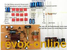 Kondensatorensatz der Reproplatine für Revox A77 (MKI bis MKVI) Neuware
