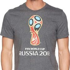 adidas 2018 FIFA World Cup Emblem T-Shirt Logo Russia Soccer Large L Official