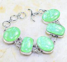 """Bracelet 7-8"""" X86460 Fancy Dichroic Glass"""