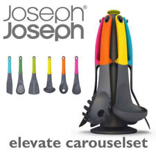 Joseph Joseph Elevate Carousel Kitchen Utensil 6-piec Set + Rotating  Stand NEW