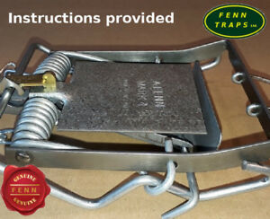 Fenn  trap  Mark4 rat squirrel Mk4 + Indicator BUY DIRECT
