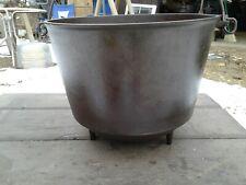 Antique Erie Cast iron No. 8 Pot 3 Leg Kettle Cast Iron March 10 1891 CLEANED