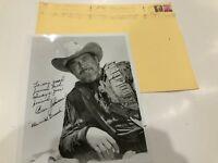 Ben Johnson Autographed-Signed-Signature 8 x 10 Photo 1980