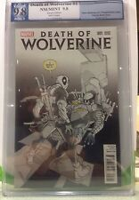 DEATH of WOLVERINE #1 P. Ferry DEADPOOL SKETCH Variant PGX 9.8 NM/MT WP not CGC