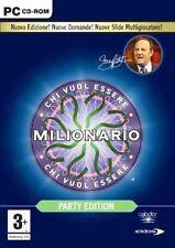 Chi Vuol Essere Milionario? Party Edition PC CD-Rom