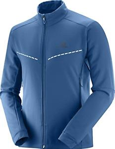 Salomon Men's Agile Softshell Jacket Medium Poseidon