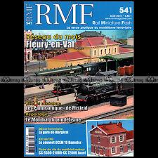 RMF N°541 TRAIN ECLAIR AUTORAIL PANORAMIQUE FLEURY-EN-VAL BB 66000 2010★COMPLET★