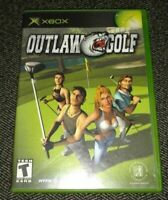 OUTLAW GOLF - XBOX - COMPLETE WITH MANUAL - FREE S/H - (II)