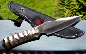 FULL TANG Combat Survival Military Assult Tactical Defense Hunting Bowie knife