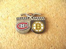 October 5, 2005 Season Opener Canadiens Bruins pin NHL