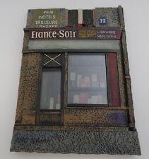 Chiu Tak Hak - French Paris Store Fronts Set of 4 3D Resin Art Wall Plaques