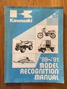 Kawasaki model recognition manual  1989-1991 ,   See below