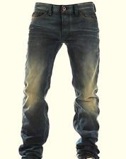 Diesel Herren Hose Gr.W27 Jeans Safado Regular Slim-Straight Wash Blau 85818