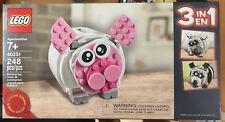LEGO 40251 Creator Mini Piggy Bank 3-in-1 promo exclusive set new in box
