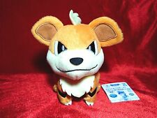 MWT Pokemon XY Growlithe Plush Doll Original Japan UFO Banpresto Toy 6""