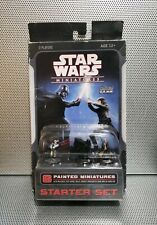 STAR WARS STARTER SET 6 Painted Collectible Miniatures Game NEW