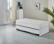 KING SINGLE Base with Trundle bed with 2 mattresses- 5 years warra