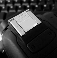 Silver Hot Shoe Cover flash lamp Cap For Canon 550d 70d 600d 7d2 5d4 800d