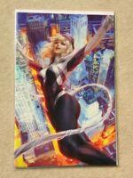Spider-Gwen: Ghost Spider #1 Stanley Artgerm Lau Virgin Variant - 2018 - Marvel