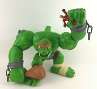 Fisher Price Imaginext Castle Ogre 2012 Action Tech with Club and Knight Figure