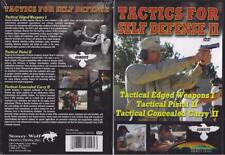 Tactics for Self Defense II Gun Use 3 Programs DVD NEW