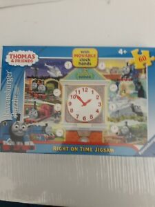 Thomas & Friends Right On Time 60 pc. jigsaw (Ravensburger, Ages 4+)
