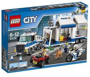 Brand New LEGO CITY Police Mobile Command Centre (60139)