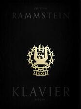 """Rammstein - XXI Notenbuch Klavier - mit CD + 1 Bleistift """"Musikmotiv"""""""