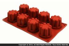 Paderno  Flexipad   Moule flexible en silicone - 8 bavarois
