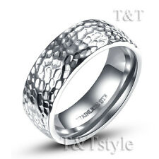 TT 7mm Stainless Steel Wedding Band Ring Choose Colour (R180)