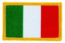 ITALY ITALIA FLAG PATCH PATCHES BADGE IRON ON NEW EMBROIDERED