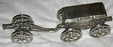 Original Antique Silver & CRYSTAL ANTIQUE CANNON AND COVERED SERVING DISH