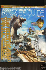 JAPAN Monster Hunter 3 Tri Rookie's Guide Book with DVD