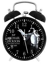 Michael Jackson Alarm Desk Clock Nice For Decor or Gifts F136