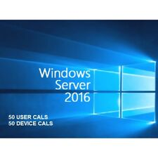Microsoft Windows Server 2016 STANDARD + 50 USER CALs / 50 DEVICE CALS