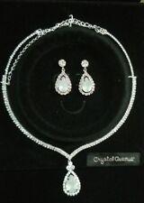 Fancy**Wedding**Party**Crystal Rhinestone Opal Fashion Jewelry Set**NEW