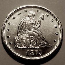 1875-P  Twenty Cent Piece * Choice BU * Mintage only 37,000 *