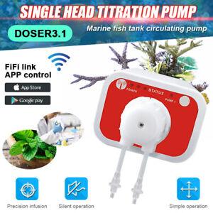 Jebao WiFi Auto Dosing Pump DOSER3.1 Aquarium Remote Control Programmable Marine