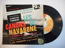 JOE REISMAN (DIMITRI TIOMKIN) : LES CANONS DE NAVARONE ► EP / 45 ◄ PORT GRATUIT