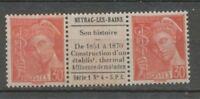 Mercure 30c. Paire NEYRAC-LES-BAINS interpanneau, Neuf** Superbe X1139
