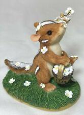 Charming Tails Fitz & Floyd Wedding Day Blossoms # 82/105 Chipmunk Flower Girl