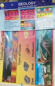 Mark Twain Media Geology Bulletin Board Set CD-1920