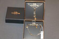 Coach Bracelet and Necklace