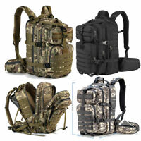 40L Military Tactical Backpack Assault Army Molle Hiking Camping Pack Bug Out