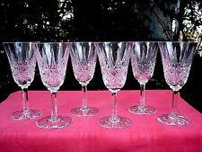 SAINT LOUIS TARN 6 WINE GLASSES WEINGLÄSER WEINRÖMER VERRES A VIN CRISTAL TAILLÉ