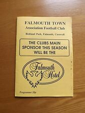 FALMOUTH TOWN v BODMIN TOWN - South Western Lge 1989/90