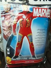 Rubies Fancy Dress Halloween Costume - Adult Deluxe Iron Man Padded Chest (XL)
