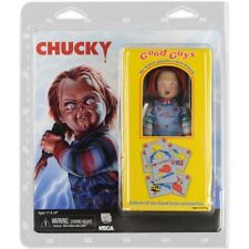 "Chucky 8"" Scale Clothed Action Figure La Bambola Assassina con Vestiti Veri NECA"