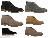 MENS HUSH PUPPIES ADULTS - TERMINAL FORMAL//WORK/CASUAL/ SUEDE SHOES BOOTS MEN'S